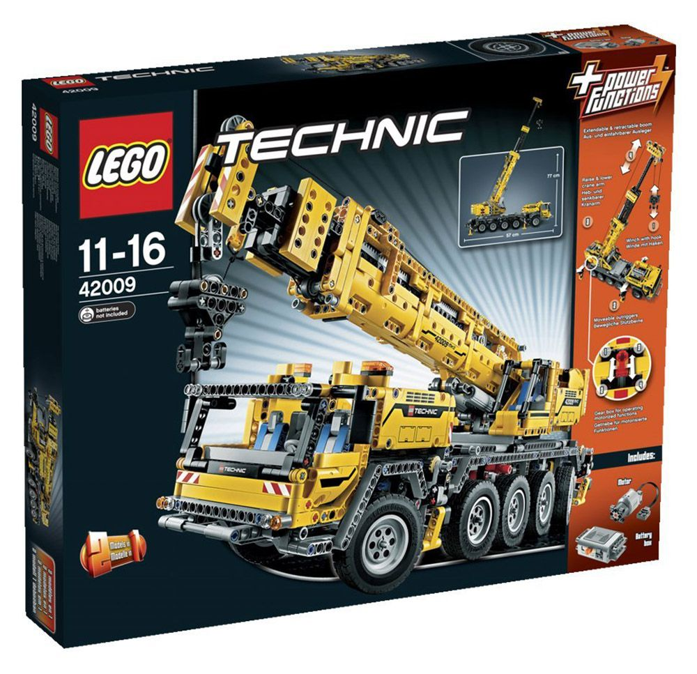 lego technic 42009 pas cher grue mobile mk ii. Black Bedroom Furniture Sets. Home Design Ideas