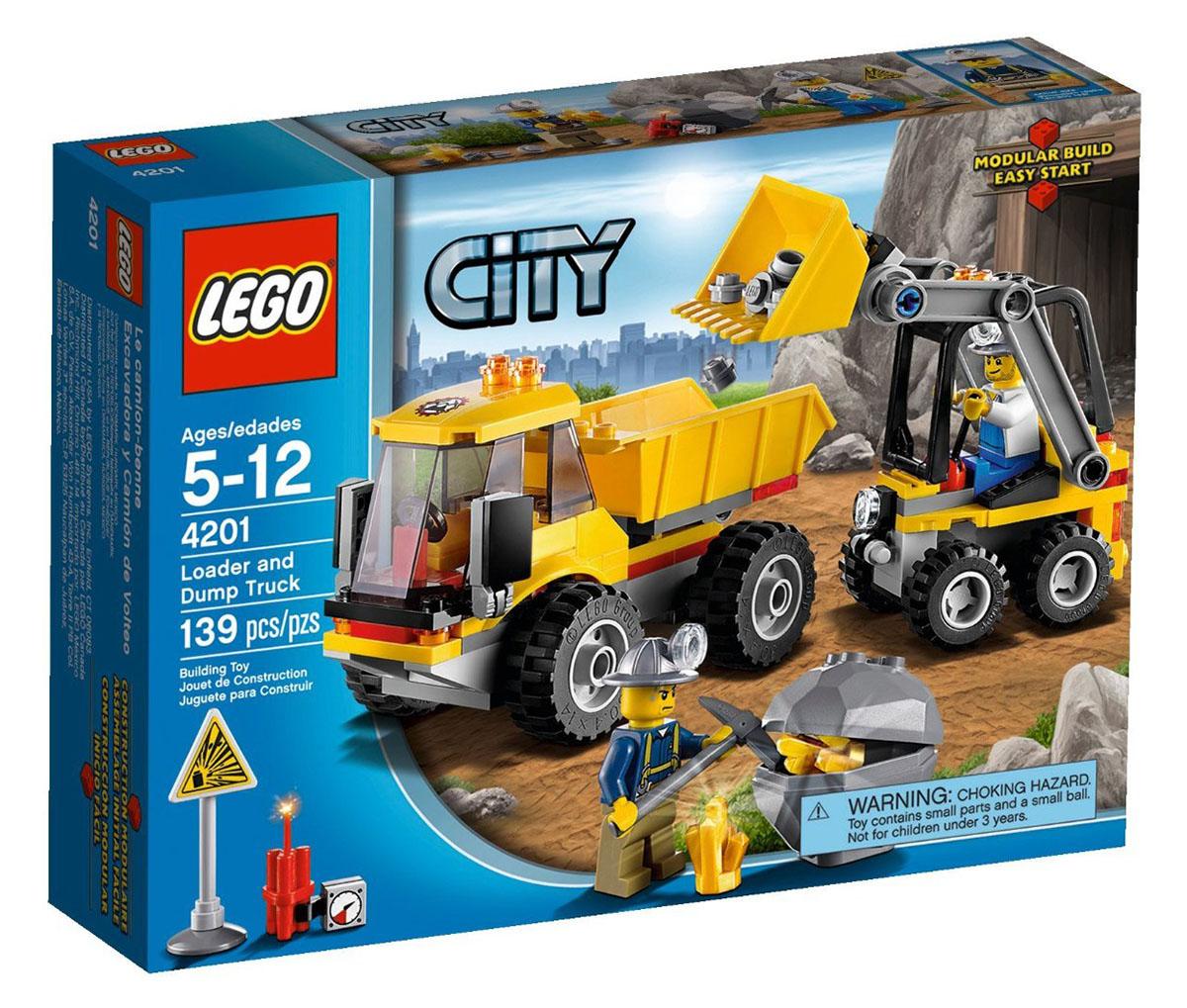 Lego city 4201 pas cher le camion benne - Image lego city ...