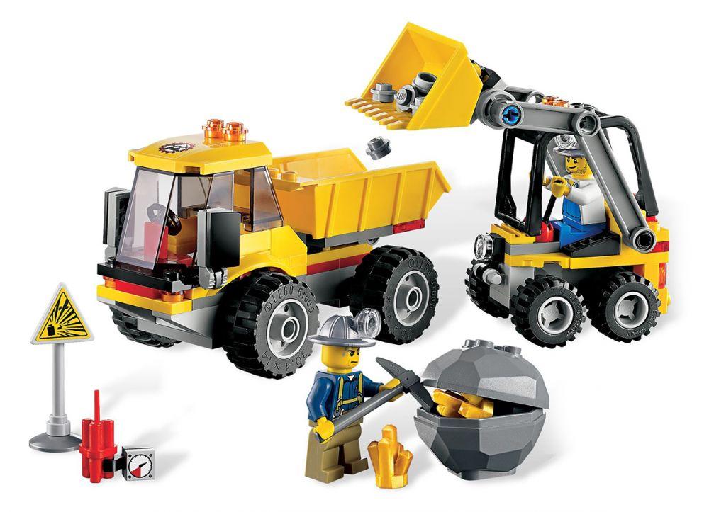 LEGO 4201 Le Camion benne pas cher