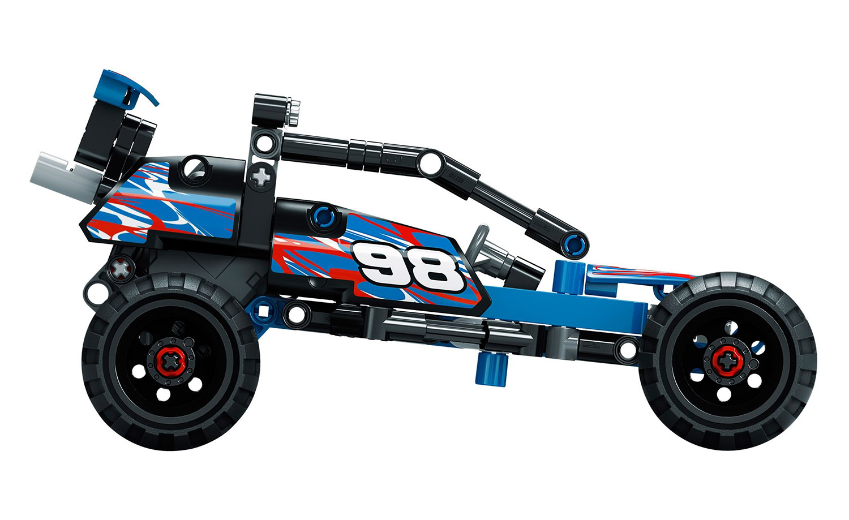 lego technic 42010 pas cher le buggy tout terrain. Black Bedroom Furniture Sets. Home Design Ideas