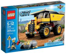 LEGO City 4202 Le camion de la mine