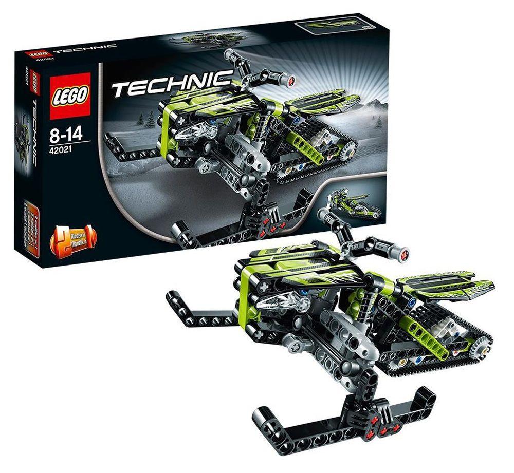 lego technic 42021 pas cher la moto des neiges. Black Bedroom Furniture Sets. Home Design Ideas