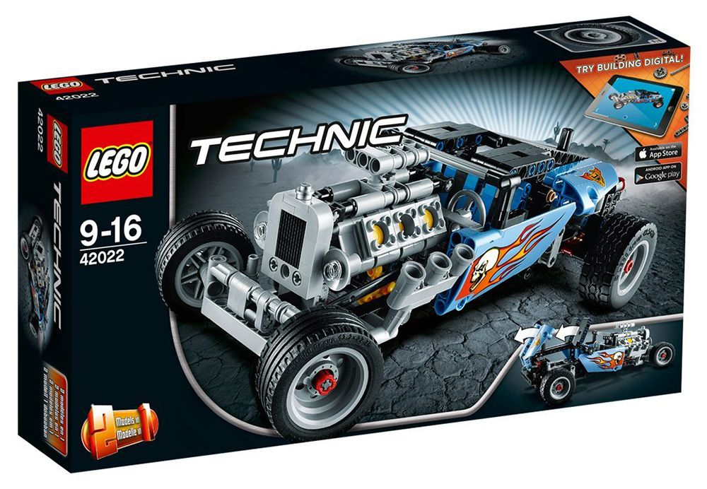 Technic Hot Lego CherLe Rod Pas 42022 DEHIW29