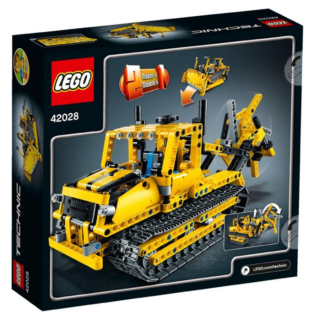 lego technic 42028 pas cher le bulldozer. Black Bedroom Furniture Sets. Home Design Ideas