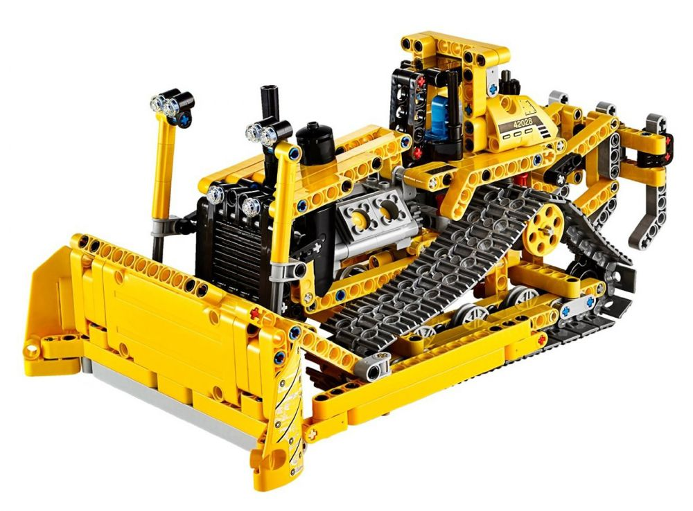 lego technic 42028 pas cher le bulldozer. Black Bedroom Furniture Sets. Home Design Ideas