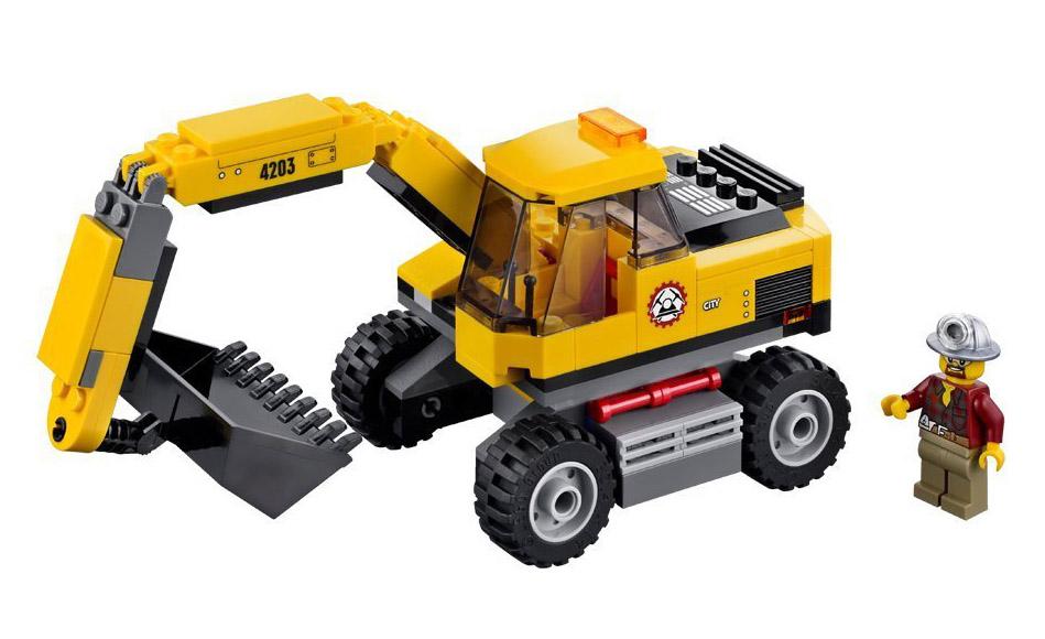 4203 le transporteur de lego. Black Bedroom Furniture Sets. Home Design Ideas
