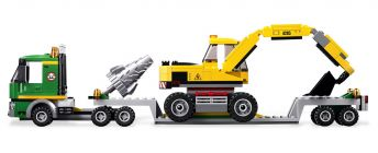 LEGO City 4203 Le transporteur