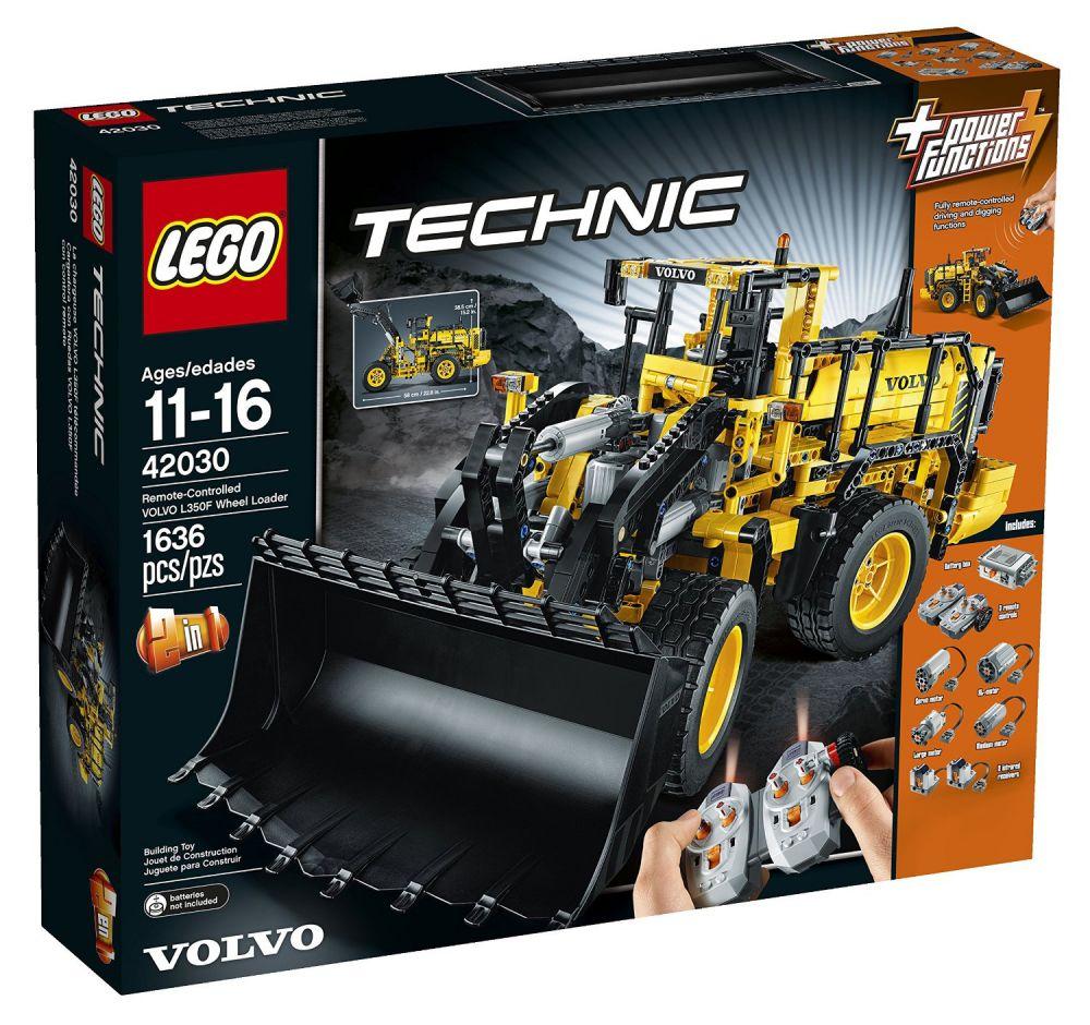 lego technic 42030 pas cher la chargeuse sur pneus t l command e volvo l350f. Black Bedroom Furniture Sets. Home Design Ideas