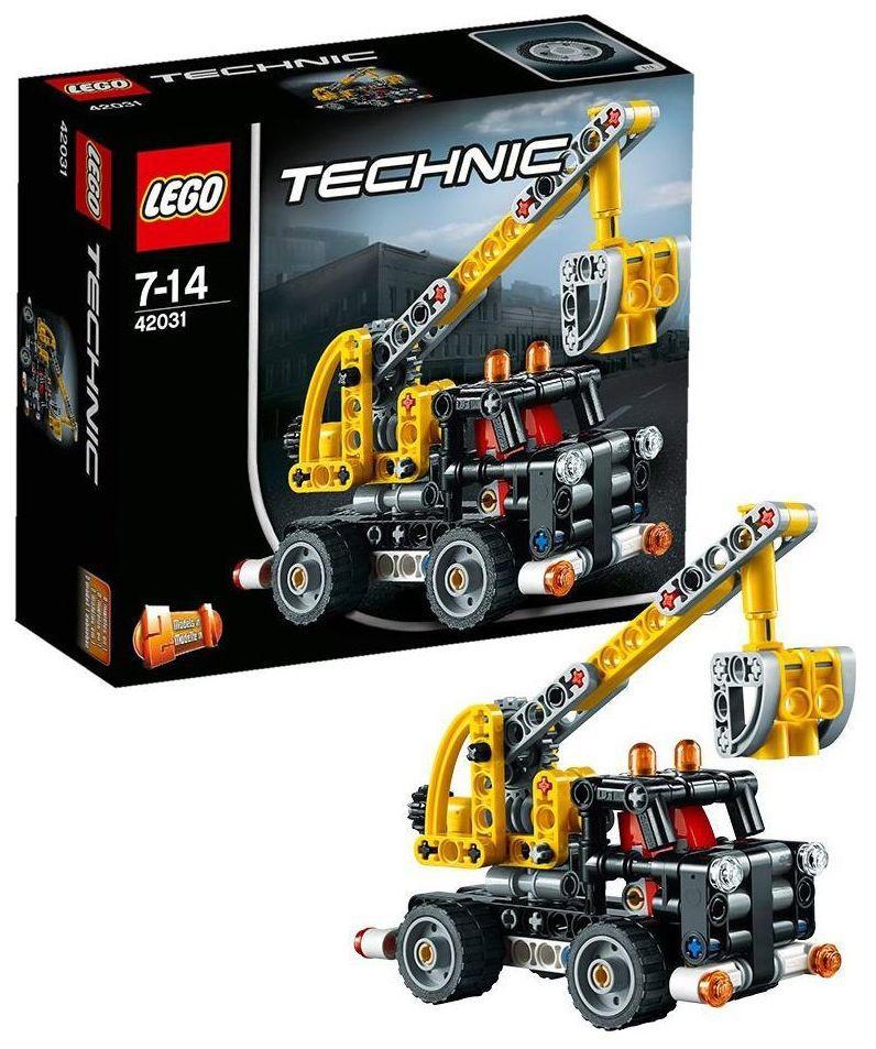 lego technic 42031 pas cher le camion nacelle. Black Bedroom Furniture Sets. Home Design Ideas