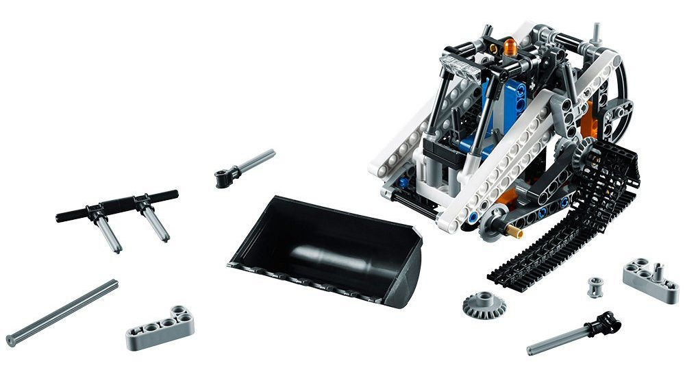 lego technic 42032 pas cher la chargeuse compacte sur chenilles. Black Bedroom Furniture Sets. Home Design Ideas