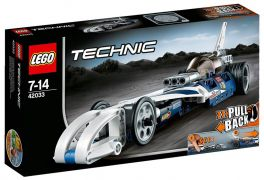 LEGO Technic 42033 - Le bolide imbattable pas cher