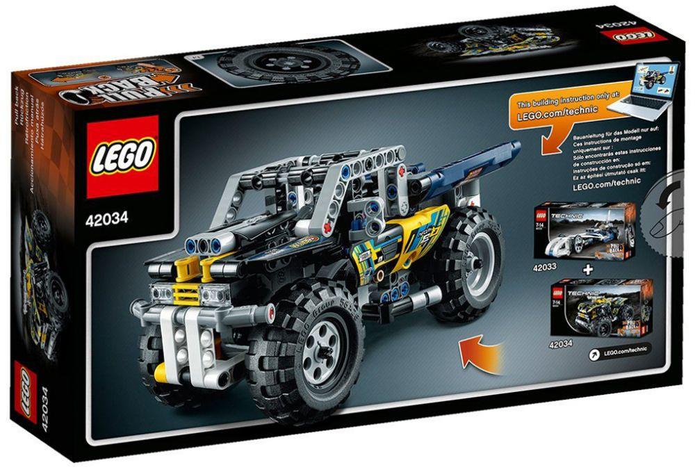 lego technic 42034 pas cher le quad. Black Bedroom Furniture Sets. Home Design Ideas