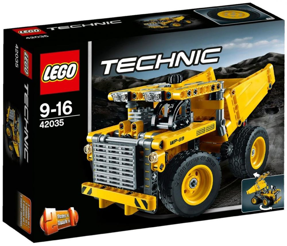 lego technic 42035 pas cher le camion de la mine. Black Bedroom Furniture Sets. Home Design Ideas