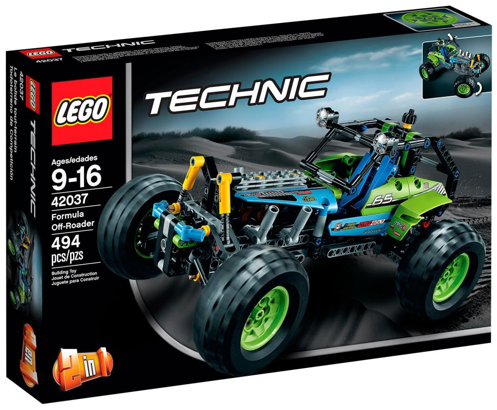 lego technic 42037 pas cher le buggy tout terrain. Black Bedroom Furniture Sets. Home Design Ideas