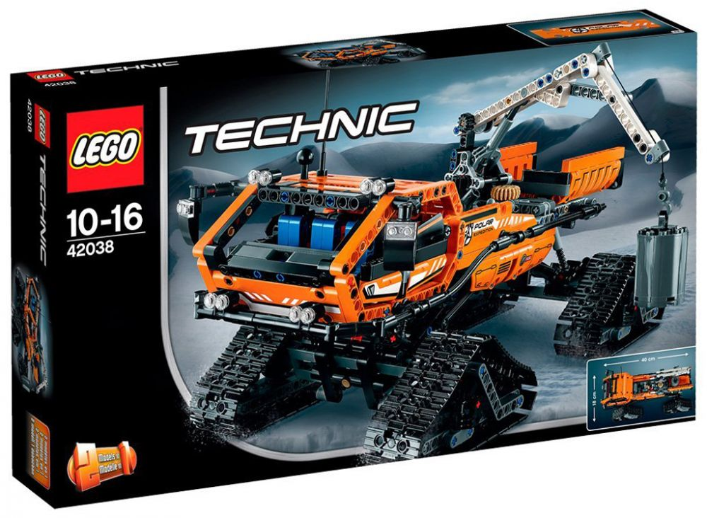 lego technic 42038 pas cher arctic truck. Black Bedroom Furniture Sets. Home Design Ideas