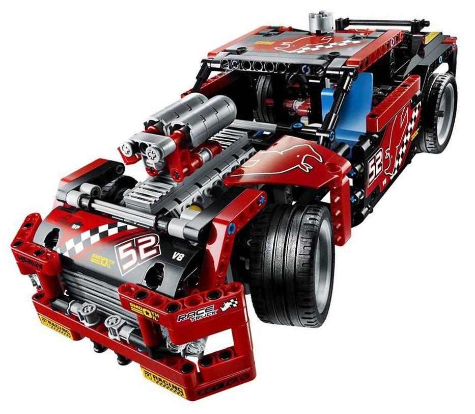Lego Technic 42041 Pas Cher Le Camion De Course