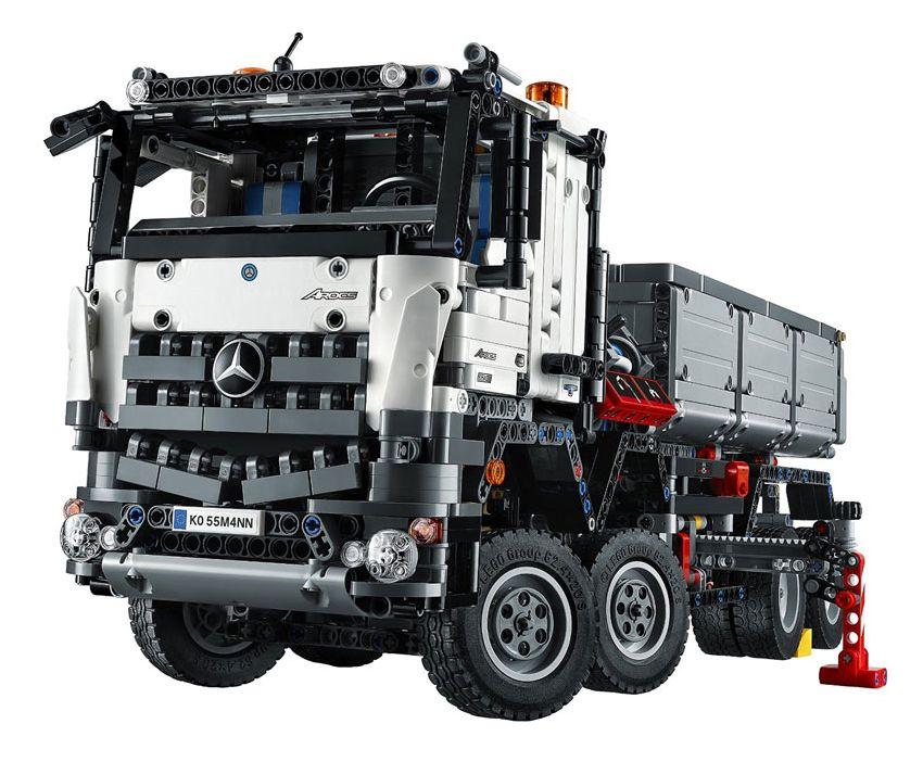 Lego Technic 42043 Pas Cher Mercedes Benz Arocs 3245