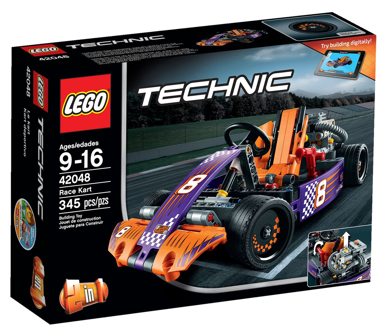 lego technic 42048 pas cher le karting. Black Bedroom Furniture Sets. Home Design Ideas