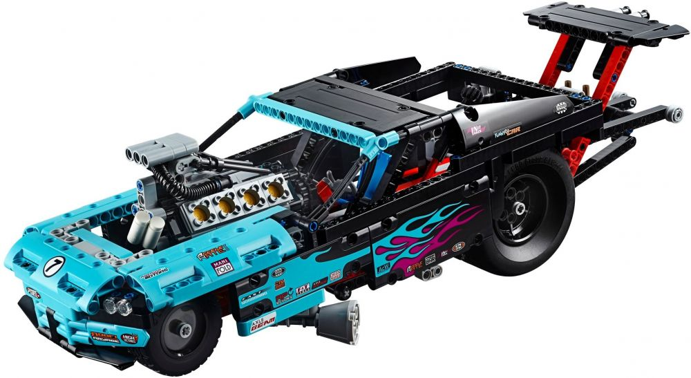 lego technic 42050 pas cher le v hicule dragster. Black Bedroom Furniture Sets. Home Design Ideas