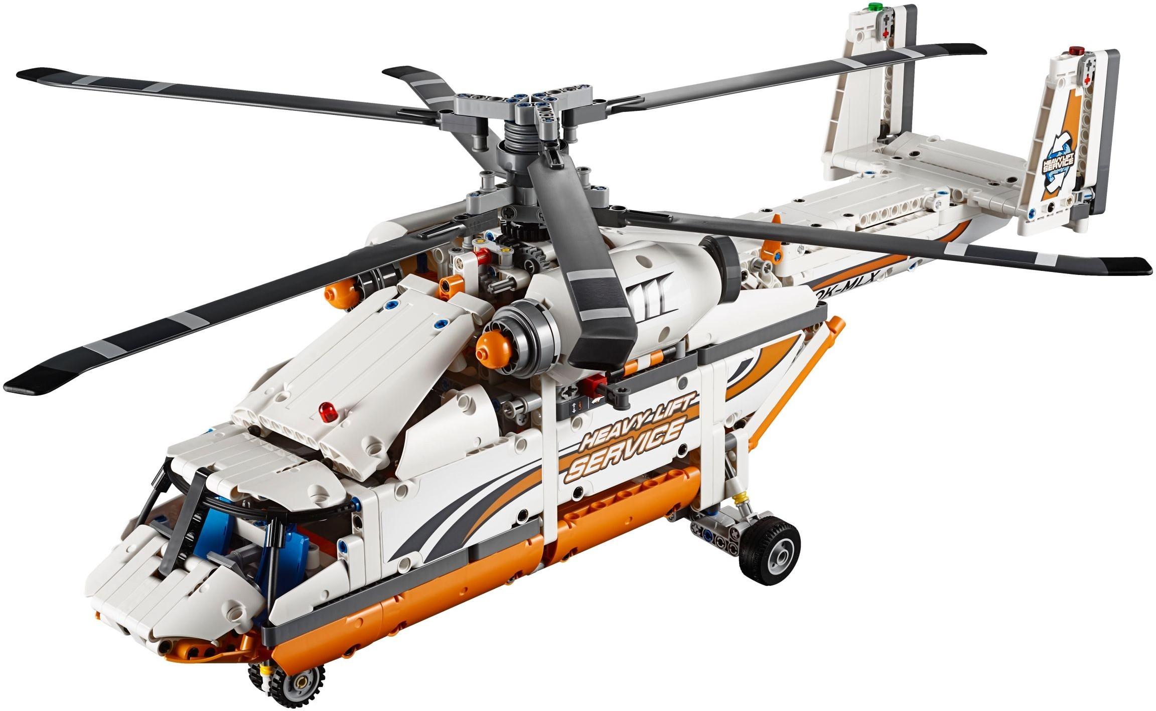 Elicottero Lego Technic : Lego technic pas cher l hélicoptère de transport