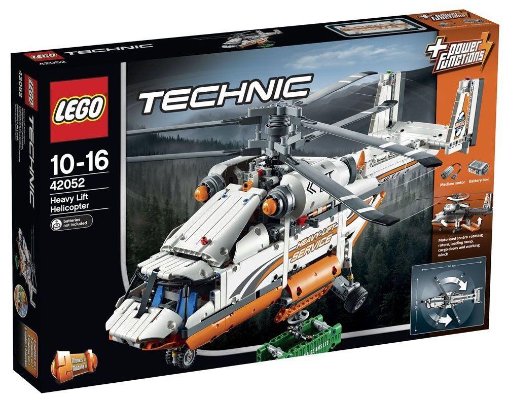 lego technic 42052 pas cher l 39 h licopt re de transport. Black Bedroom Furniture Sets. Home Design Ideas