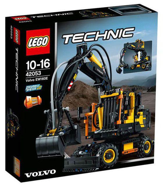 lego technic 42053 pas cher volvo ew160e. Black Bedroom Furniture Sets. Home Design Ideas