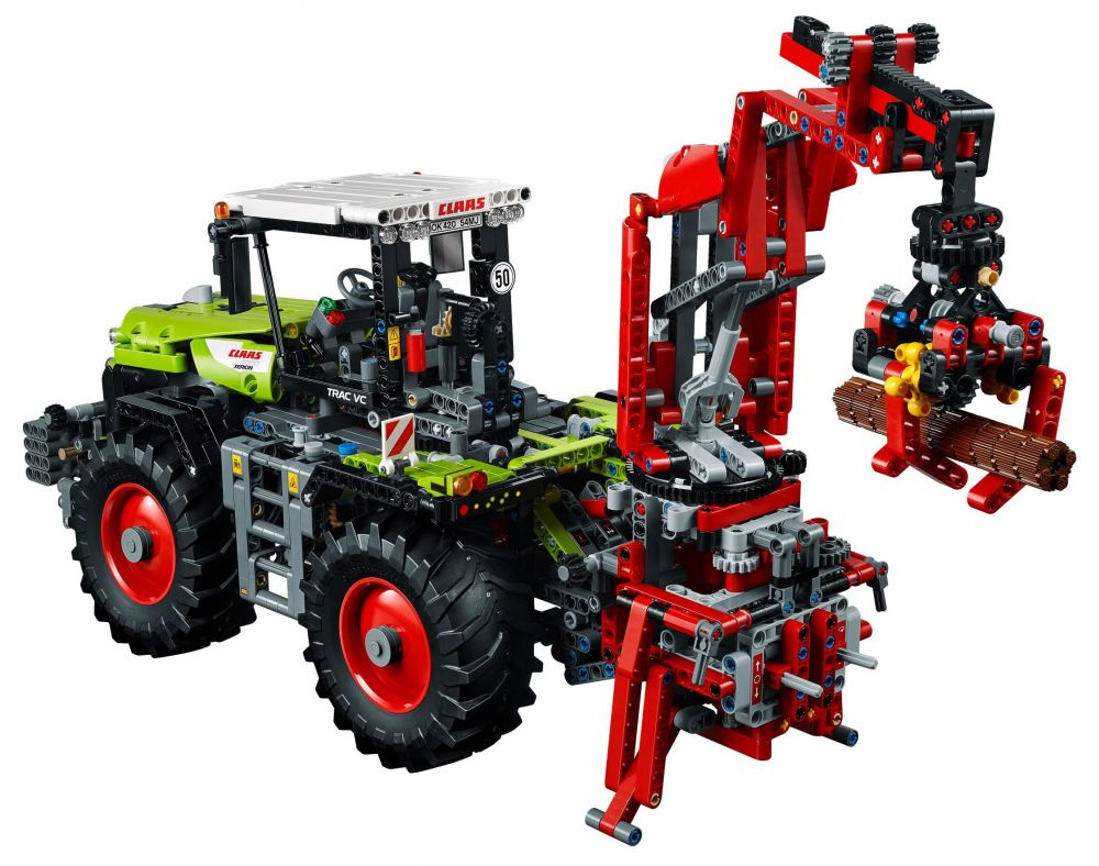 lego technic 42054 pas cher claas xerion 5000 trac vc. Black Bedroom Furniture Sets. Home Design Ideas