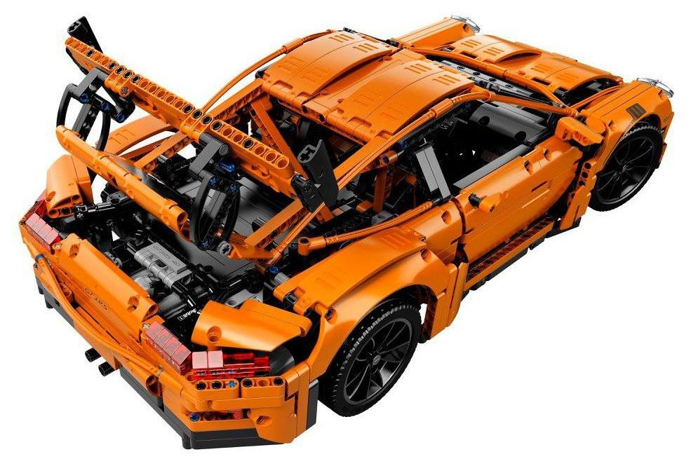 lego technic 42056 pas cher porsche 911 gt3 rs. Black Bedroom Furniture Sets. Home Design Ideas