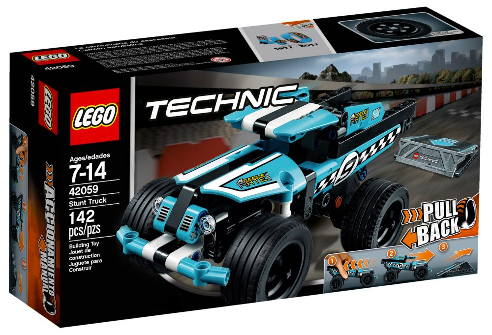 lego technic 42059 pas cher le pick up du cascadeur. Black Bedroom Furniture Sets. Home Design Ideas