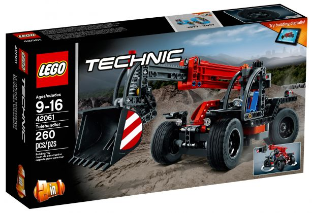 LEGO Technic 42061 Le manipulateur télescopique
