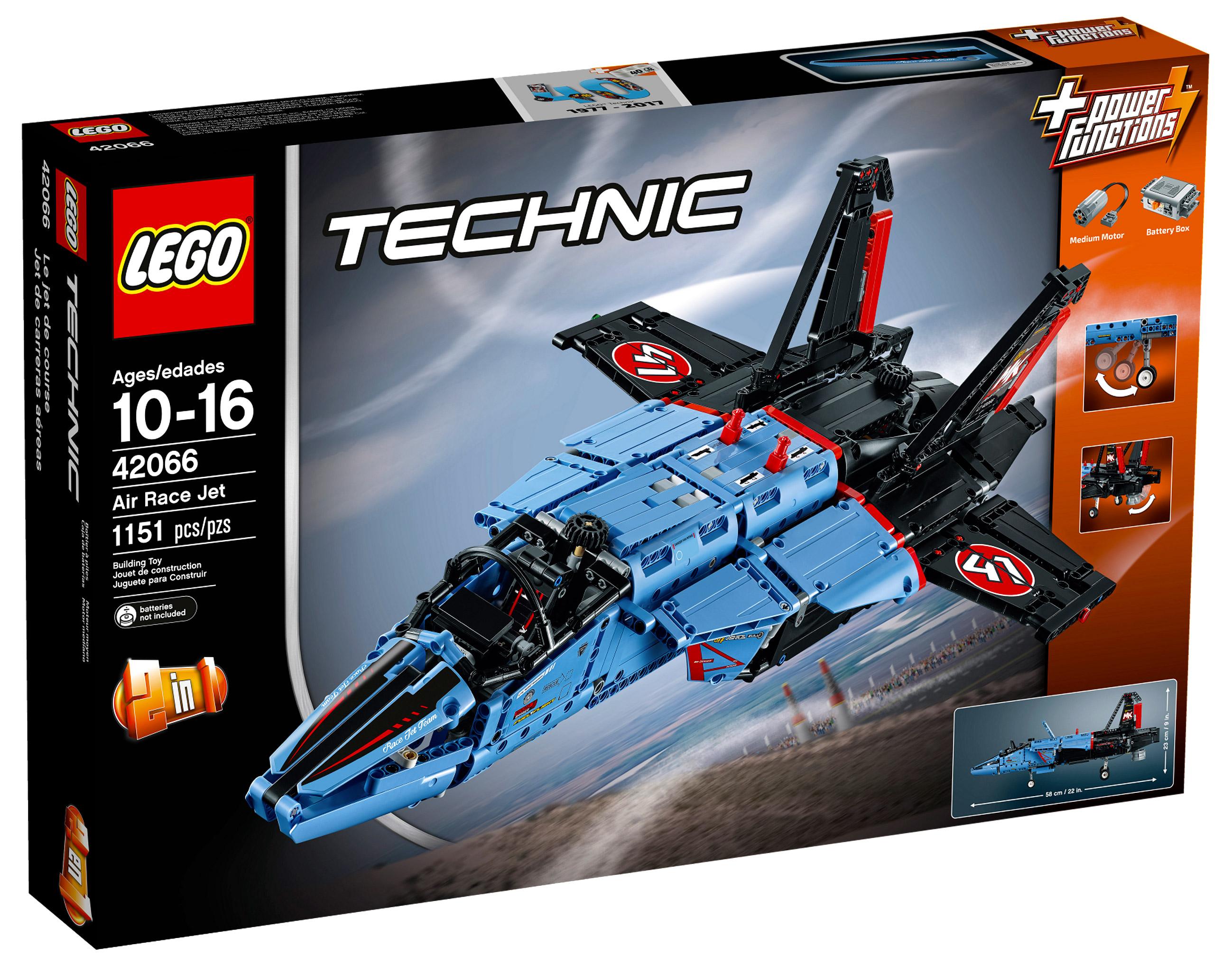 lego technic 42066 pas cher le jet de course. Black Bedroom Furniture Sets. Home Design Ideas