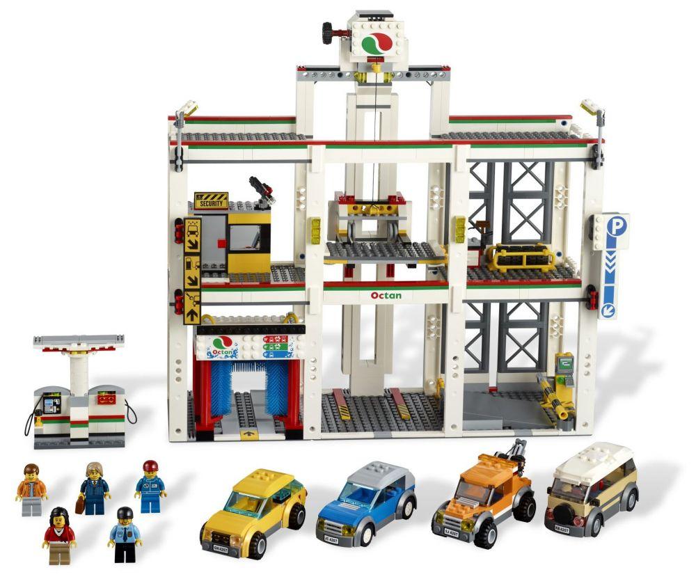 Lego city 4207 pas cher le garage de lego city for Garage de reparation pas cher