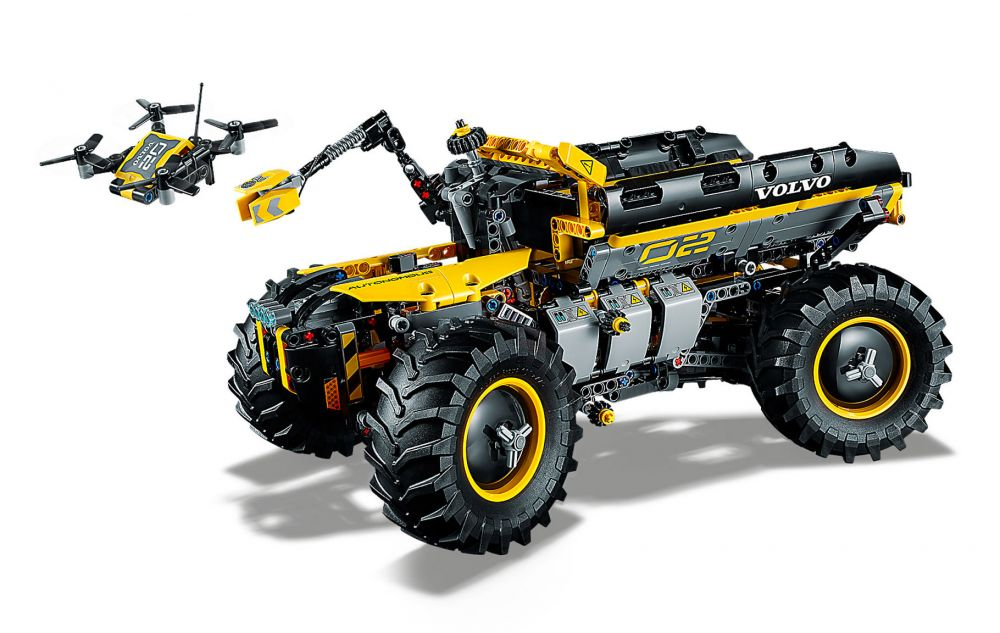 lego technic 42081 pas cher le tractopelle volvo concept zeux. Black Bedroom Furniture Sets. Home Design Ideas