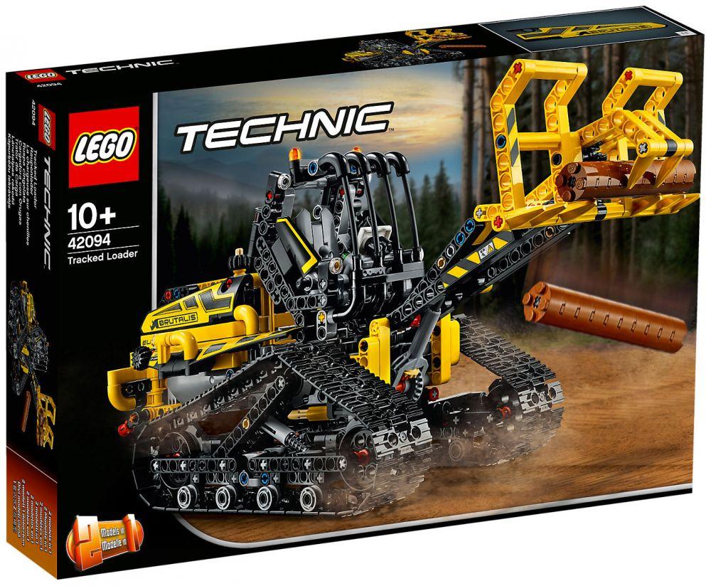 lego technic 42094 pas cher la chargeuse sur chenilles. Black Bedroom Furniture Sets. Home Design Ideas
