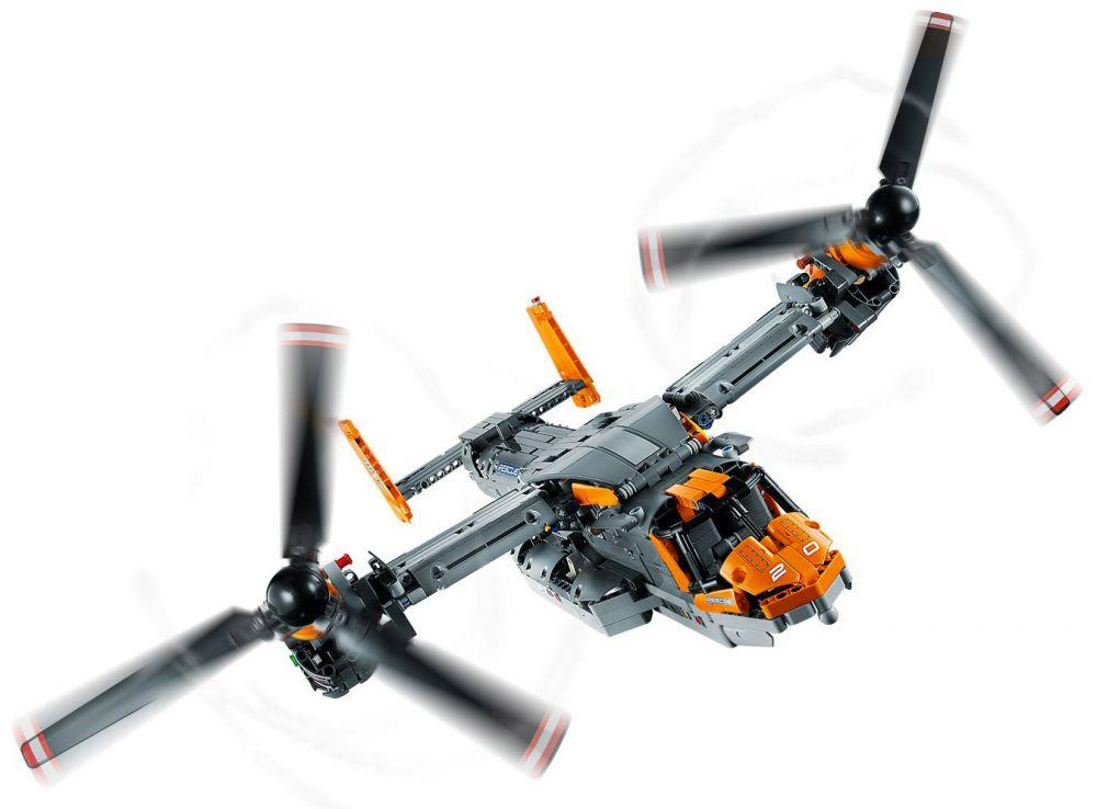 LEGO Technic 42113 pas cher, Bell Boeing V-22 Osprey
