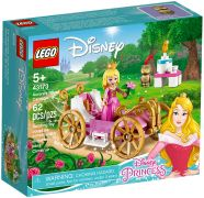 LEGO Disney 43173 Le carrosse royal d'Aurore
