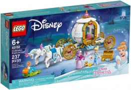LEGO Disney 43192 Le carrosse royal de Cendrillon