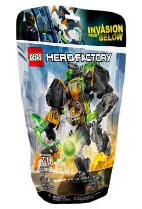 LEGO Hero Factory 44019 Rocka et son robot invisible