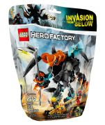 LEGO Hero Factory 44021 Splitter Beast contre Furno & Evo