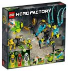 LEGO Hero Factory 44029 Queen Beast contre Furno, Evo et Stormer