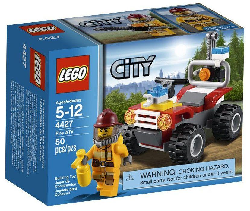 lego city 4427 pas cher le 4x4 des pompiers en foret. Black Bedroom Furniture Sets. Home Design Ideas