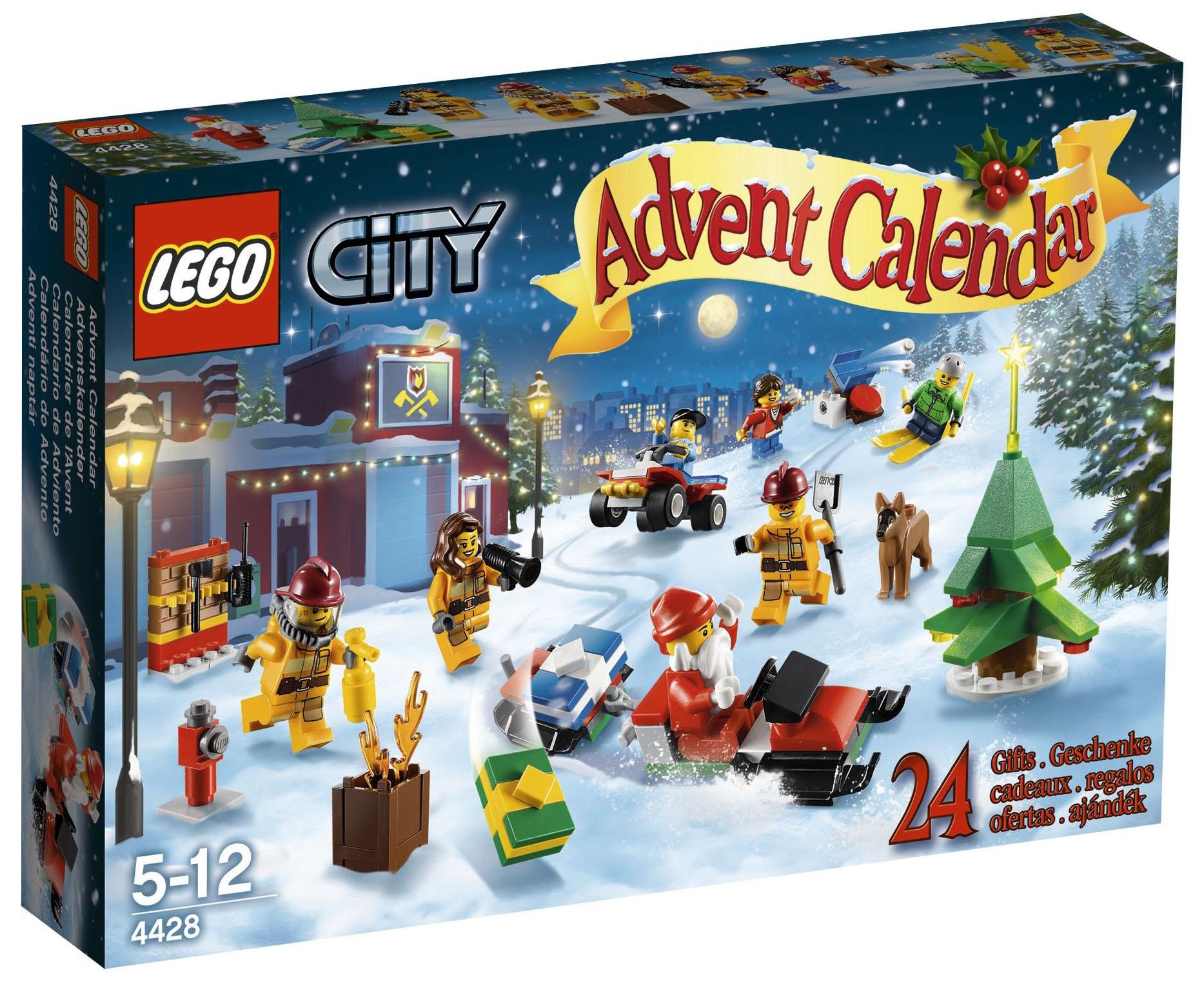 Calendrier Avent Lego City.Lego Saisonnier 4428 Le Calendrier De L Avent Lego City 2012
