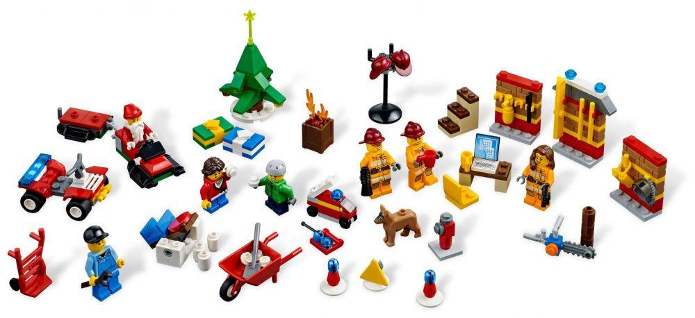 Calendrier Lego City.Lego Saisonnier 4428 Le Calendrier De L Avent Lego City 2012