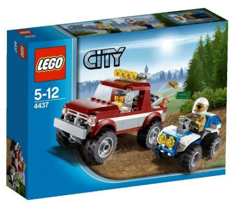 LEGO City 4437 La course poursuite en forêt