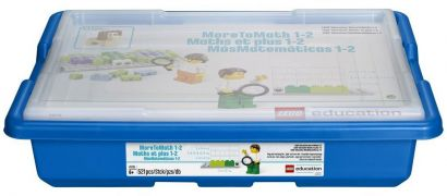 LEGO Education 45210 Set De Base MoreToMath 1-2 LEGO Education
