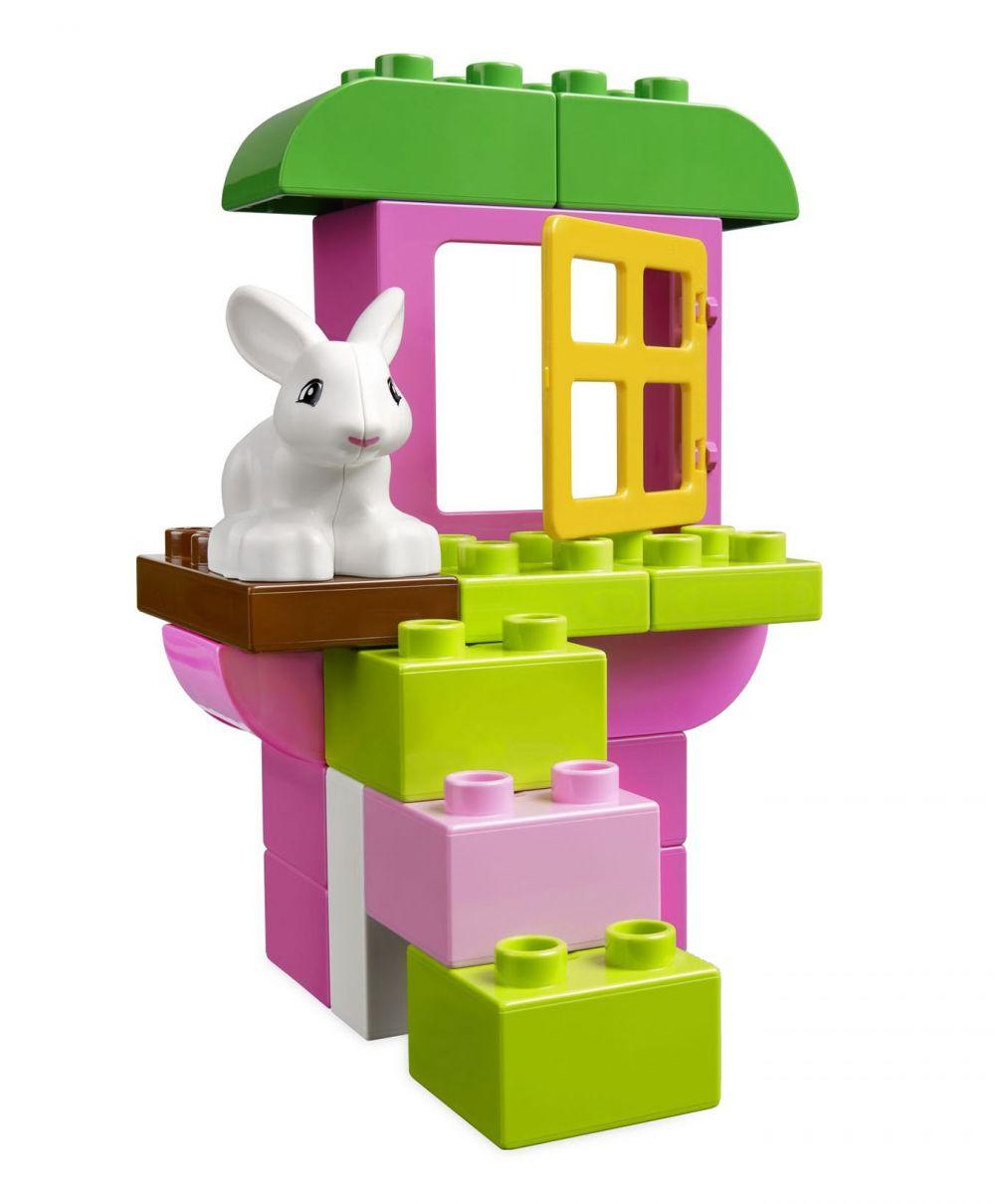 lego duplo 4623 pas cher bo te de briques fille. Black Bedroom Furniture Sets. Home Design Ideas