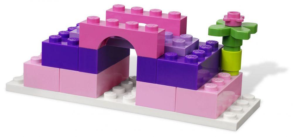 lego juniors 4625 pas cher bo te de briques fille lego. Black Bedroom Furniture Sets. Home Design Ideas