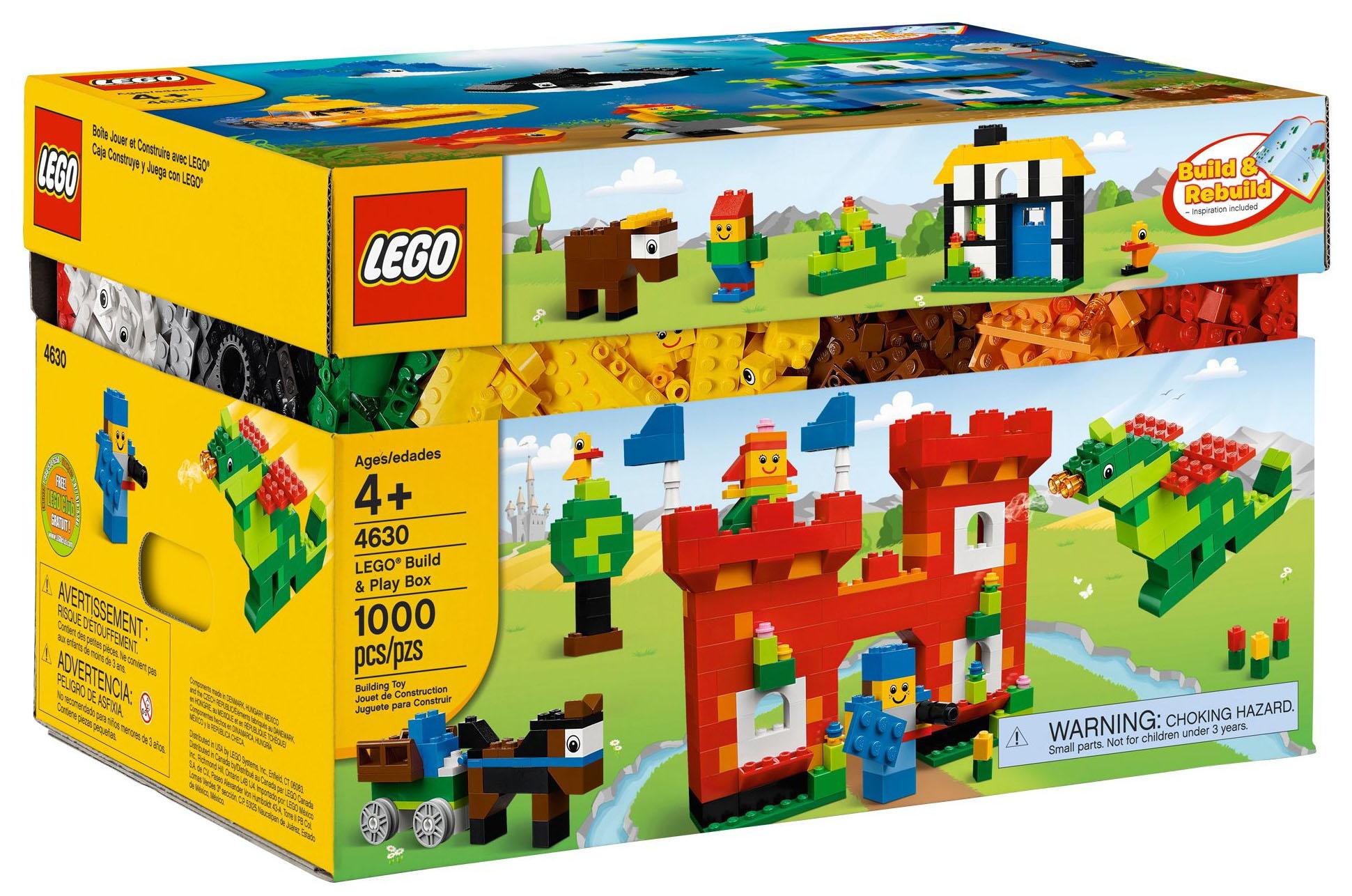 lego classic 4630 pas cher bo te jouer et construire avec lego. Black Bedroom Furniture Sets. Home Design Ideas
