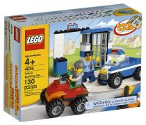 LEGO Juniors 4636 - Set de construction LEGO Police pas cher