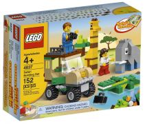 LEGO Juniors 4637 - Set de construction LEGO Safari pas cher